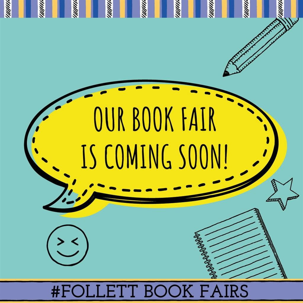 THE BOOK FAIR IS COMING! Monday, April 1st - Friday, April 5th!