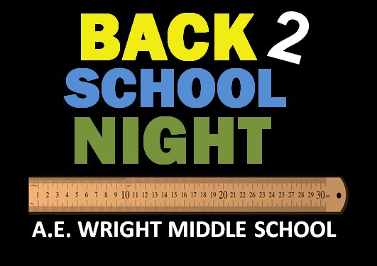Back-To-School Night: Wednesday, August 28, 2019