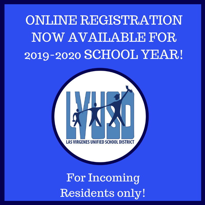 Online Enrollment for 2019-2020 School Year
