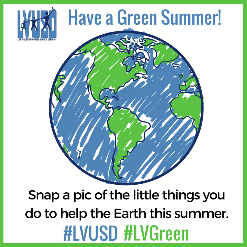 Have a SAFE, FUN, and GREEN Summer!