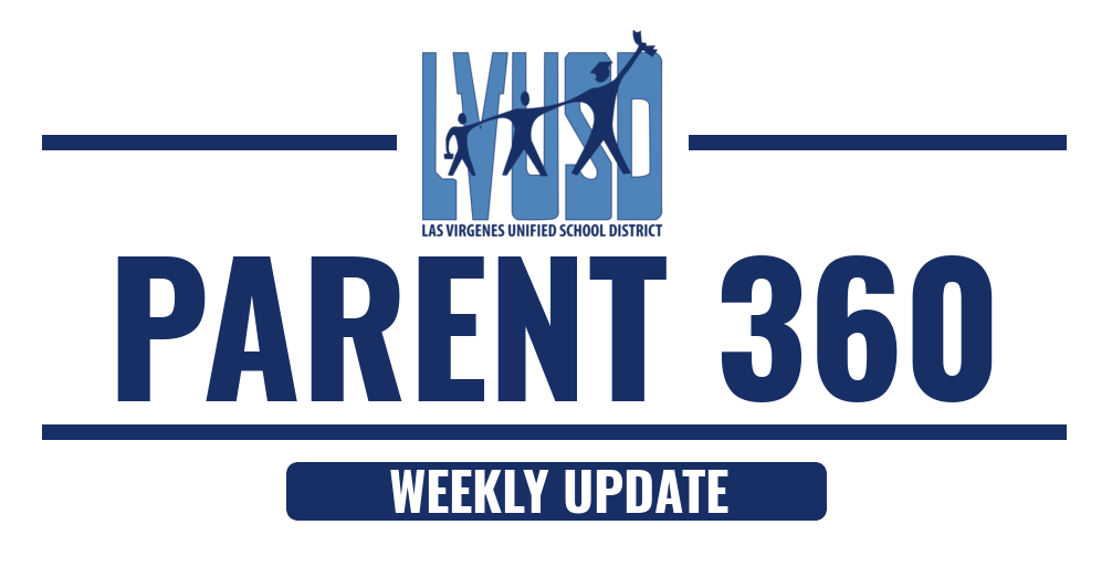 Parent 360 Weekly Update - WEEK OF NOVEMBER 5, 2018