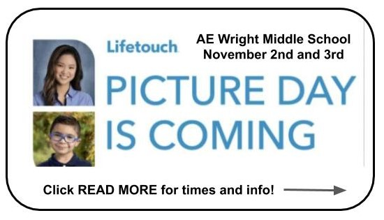 AEW Picture Days: AFTER SCHOOL on Monday, November 2nd and Tuesday, November 3rd