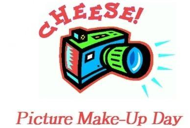 Make-Up Picture Day: Tuesday, December 15th from 2:30 - 4:30 pm