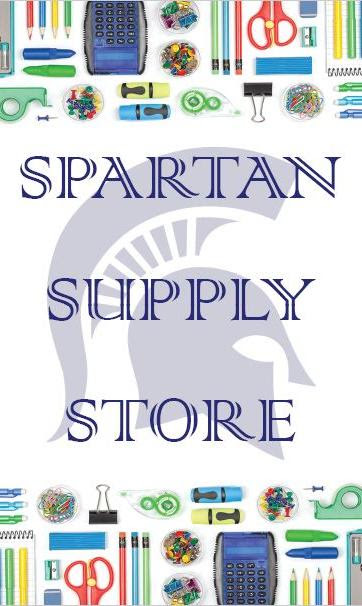 The Spartan Supply Store is open!