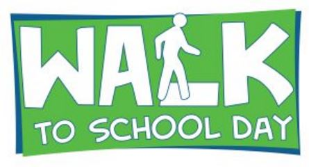 Annual Walk To School Day: Wednesday, October 10th