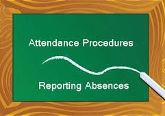 Attendance Reporting Procedure