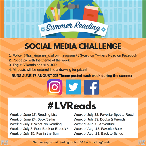 LV Reads challenge