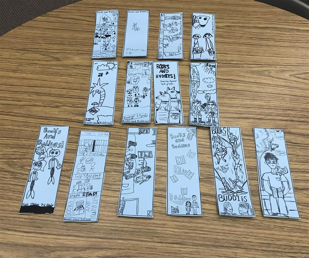 Congratulations to this year's bookmark winners!