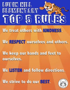 Lupin Hill's Top 5 Rules!