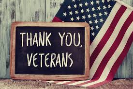 School Closed Monday, Nov 12th for Veterans Day