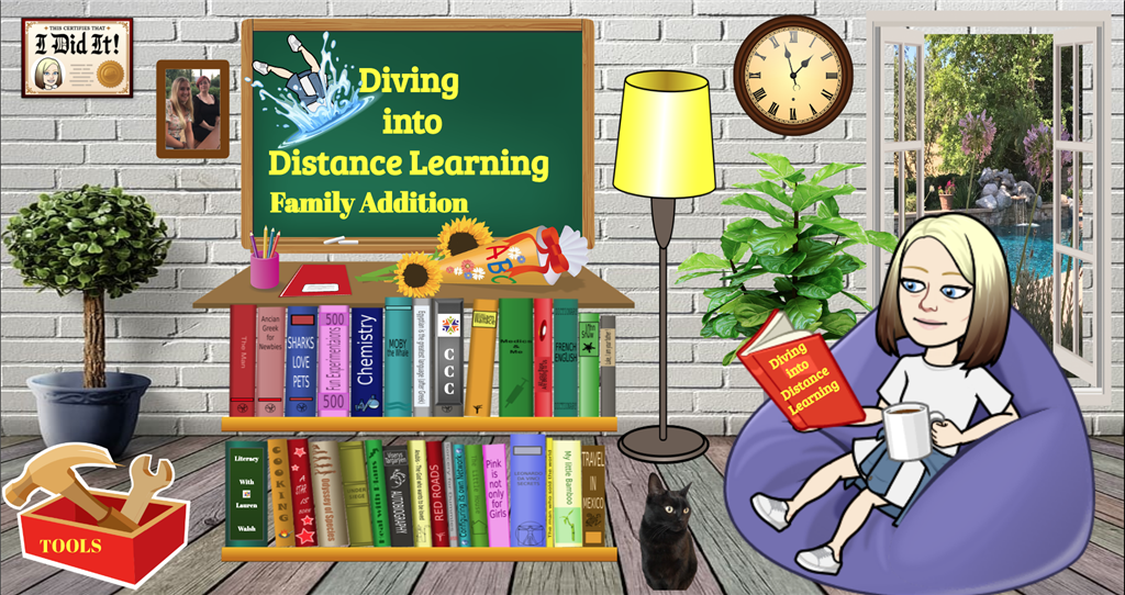 Diving Into Distance Learning Family Edition