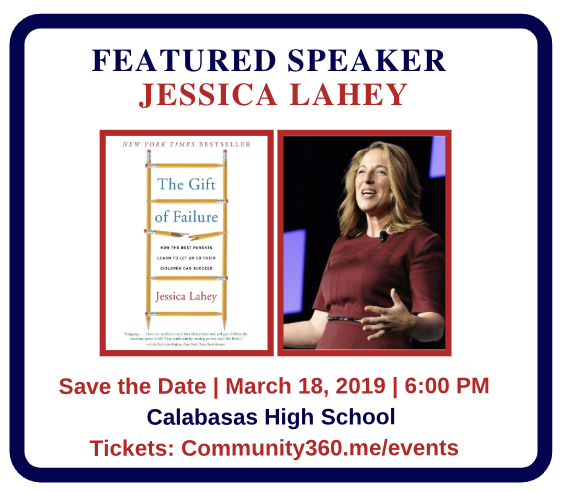 Featured Speaker Jessica Lahey
