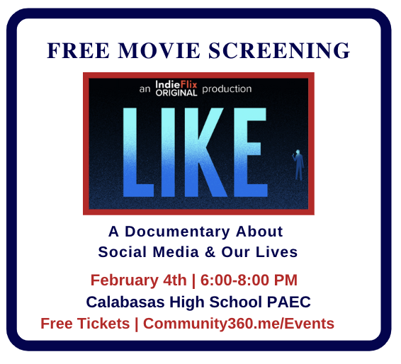 Free Movie Screening: Like : A Documentary About Social Media and Our Lives