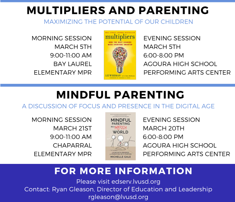 LVUSD Parent 360 Spring 2018