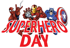 Tues 10/24 Dress as a SUPER HERO! Red Ribbon week continues!