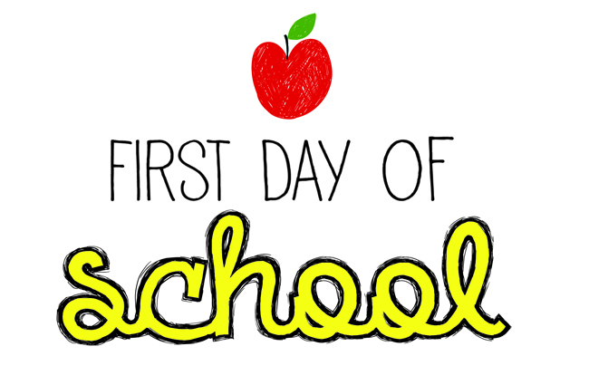 First Day of School is on Wednesday, August 22, 2018
