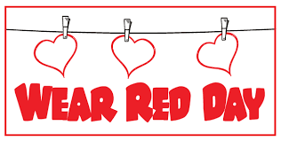 Wear RED on Monday 10/23!