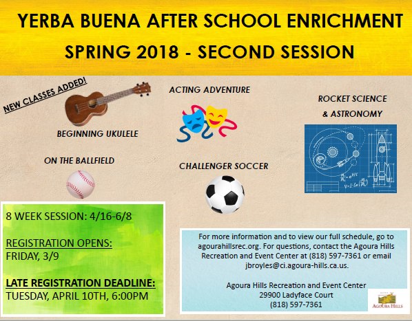 Spring Enrichment - Second Session