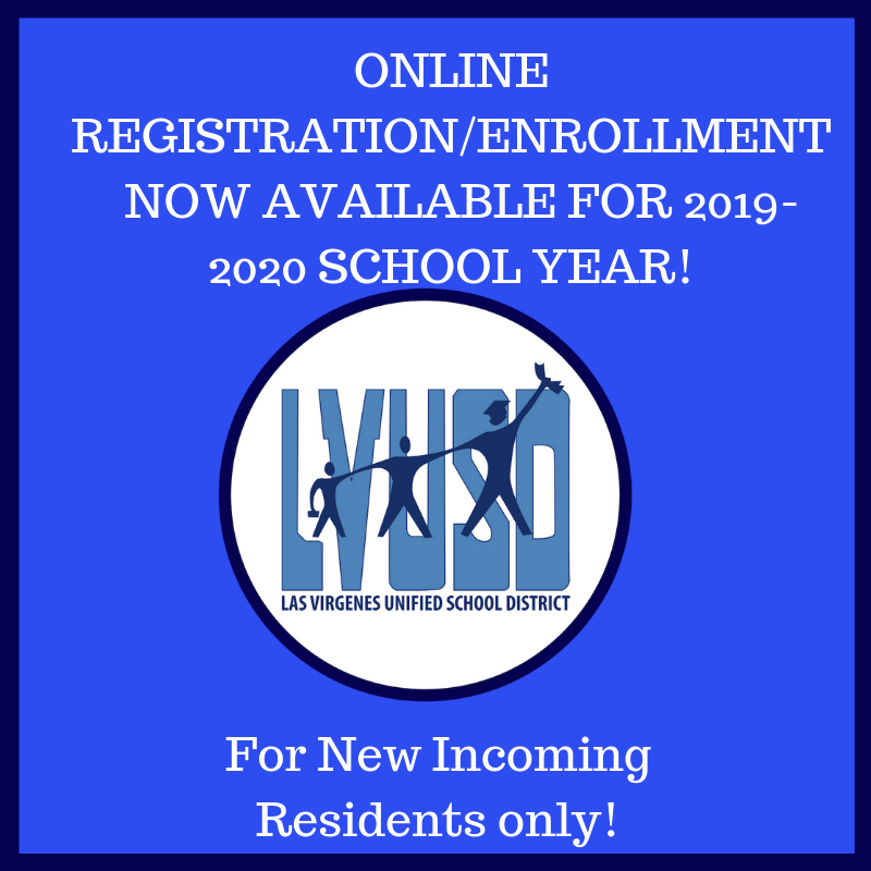 Online Registration for 2019-2020 School Year