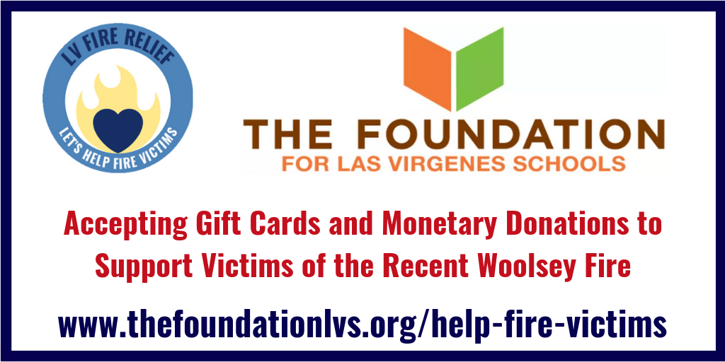Interested in Donating to the LVUSD Families Impacted by the Recent Fires?