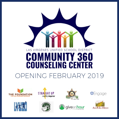 Introducing LVUSD's New 360 Counseling Center Opening February, 2019!