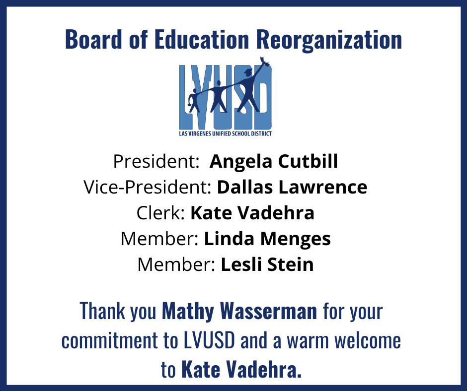 Board of Education Reorganization