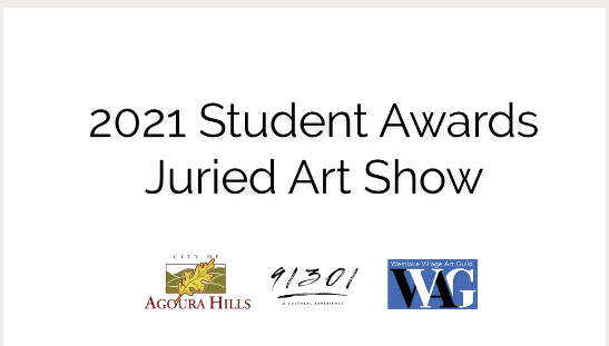 2021 Student Awards Juried Art Show