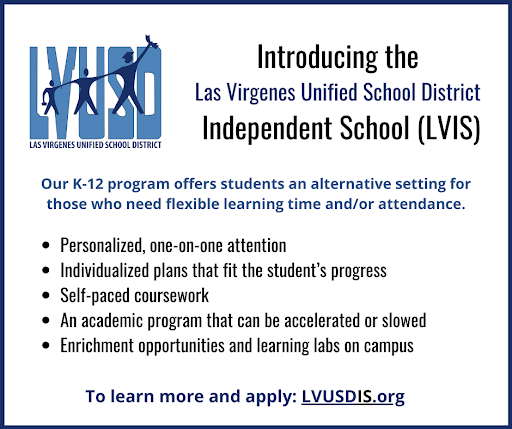 Learn More About LVUSD's Independent School (LVIS)
