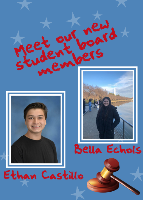 Meet Our New Student Board Members!