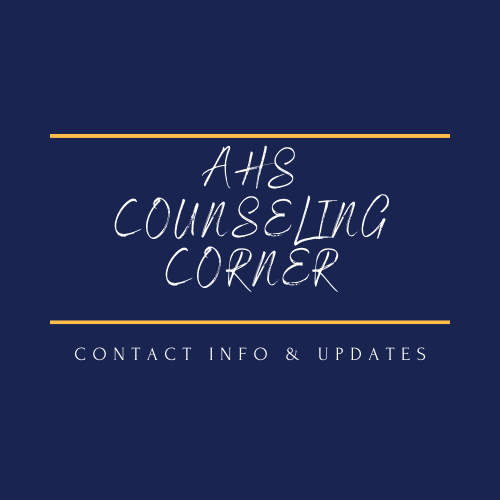 COUNSELING CORNER - CONTACT INFO AND UPDATES
