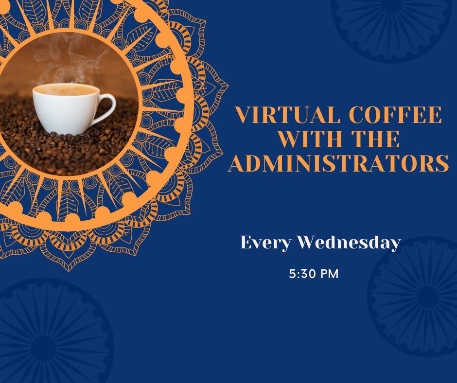 AHS Virtual Coffee with Administrators