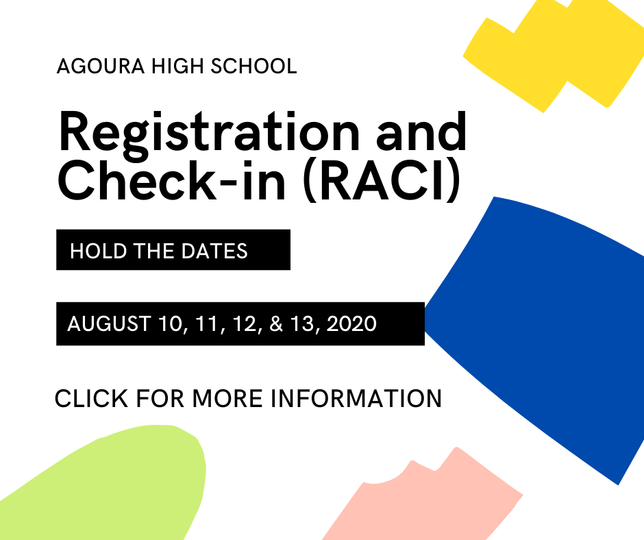 AHS Registration and Check-in (RACI)