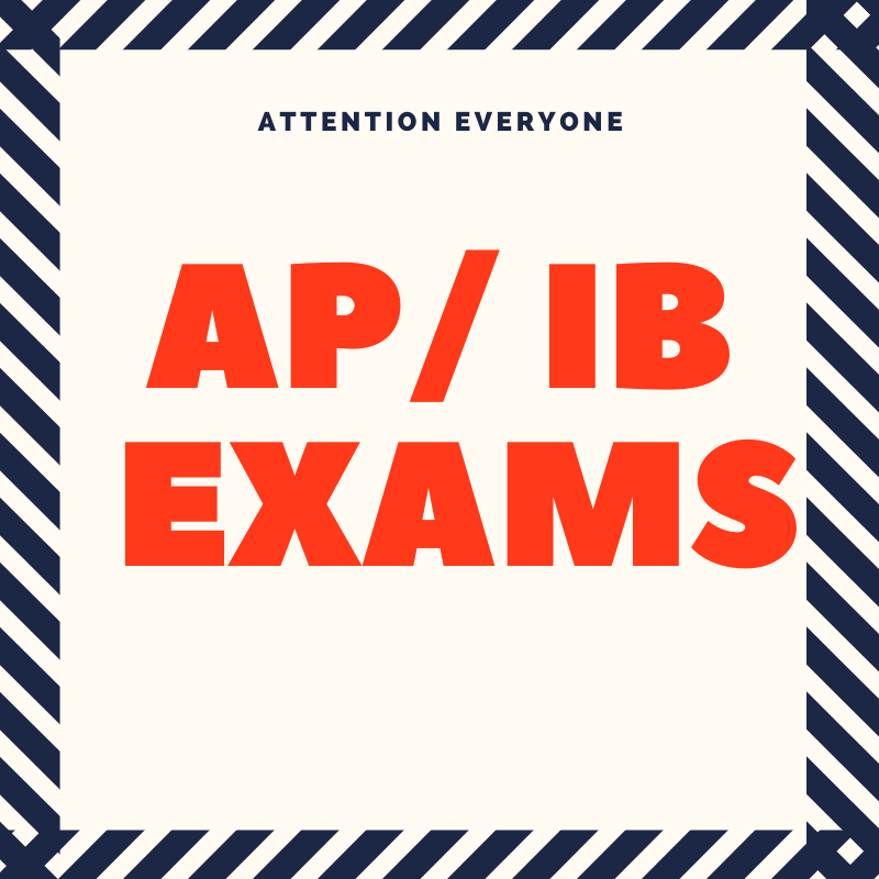 AP and IB Test Registration