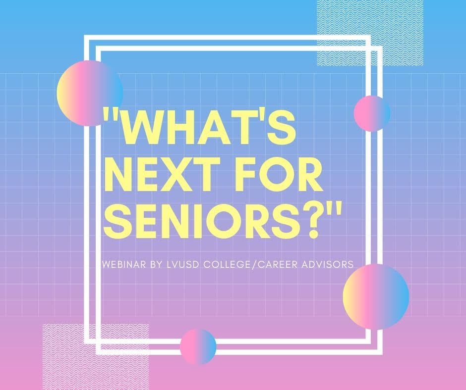 What's Next for Seniors?