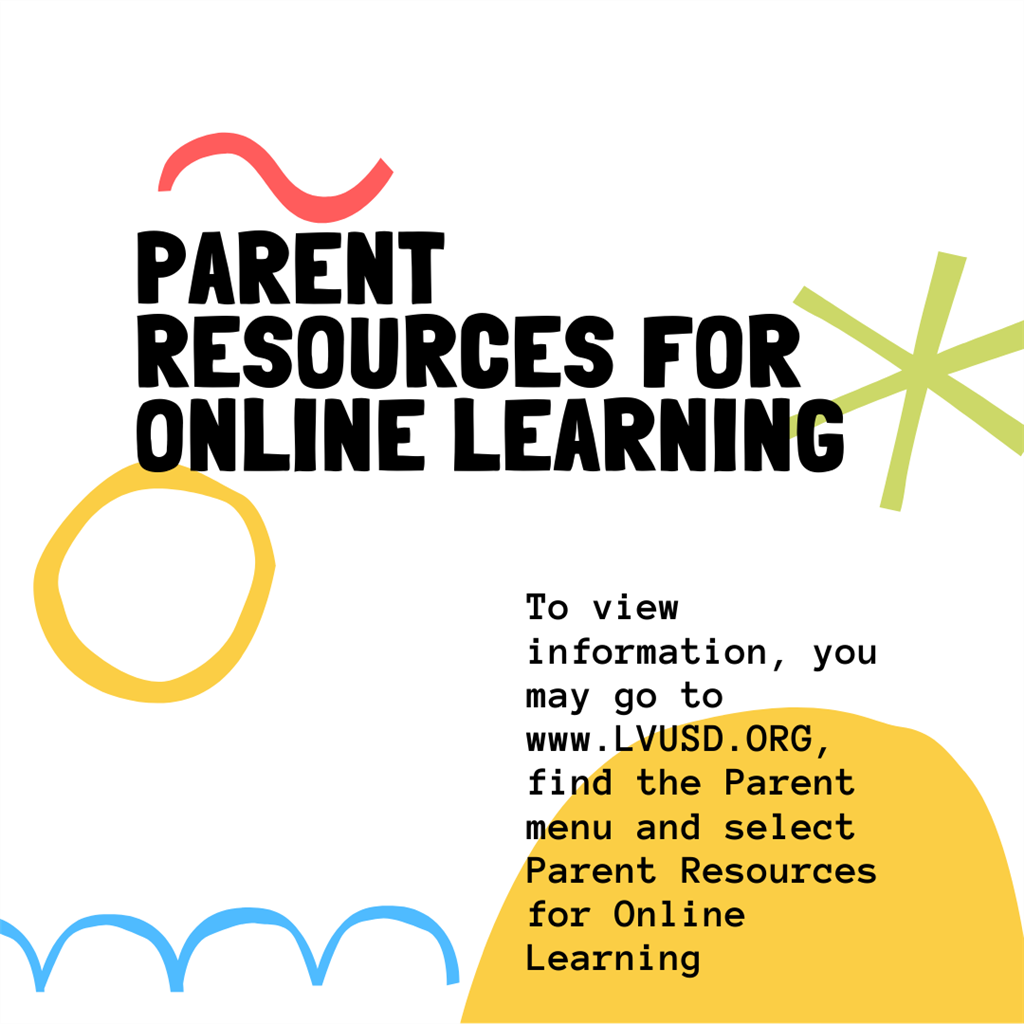 Parent Resources for Online Learning