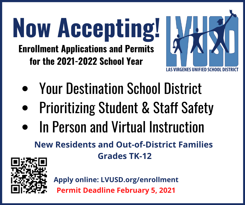 Online Enrollment for 2021 - 2022 School Year