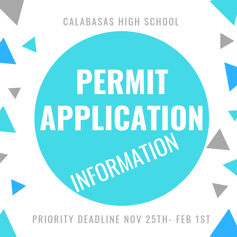 Permit Application Information for 2020-2021