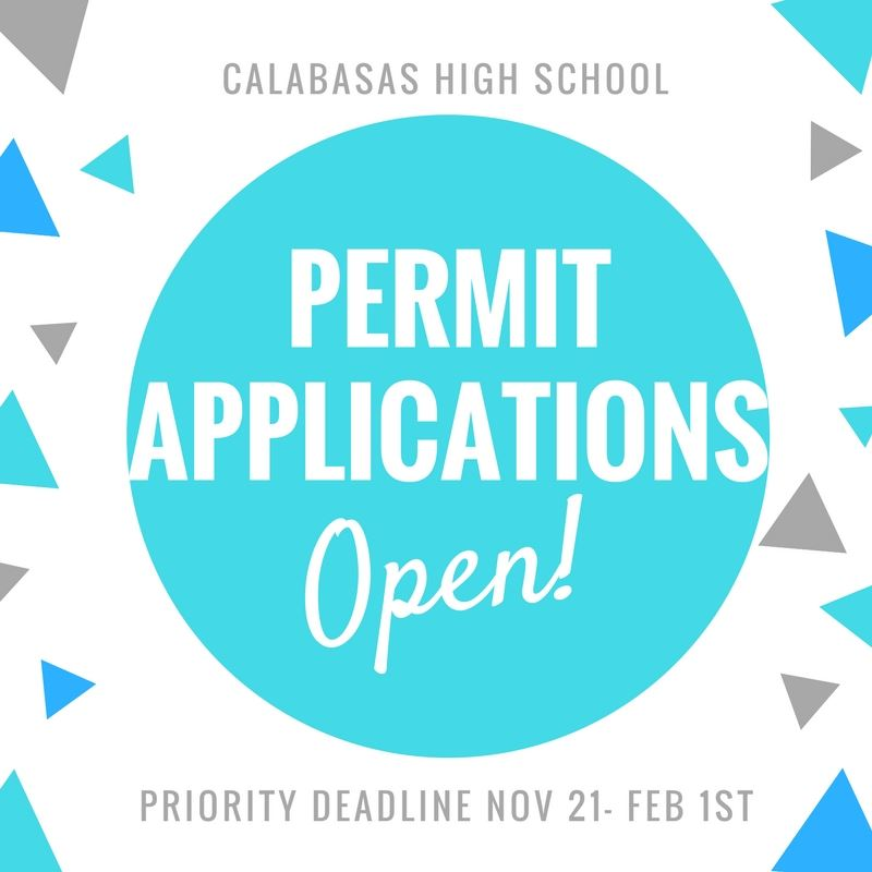 2018-19 Permit Applications Open