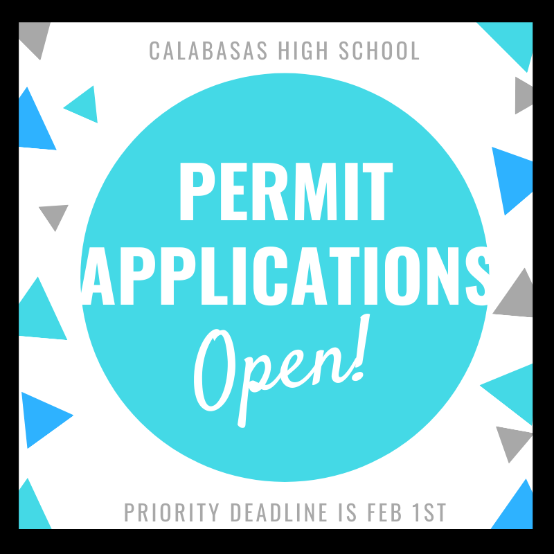 2019- 2020 Permit Applications NOW Open