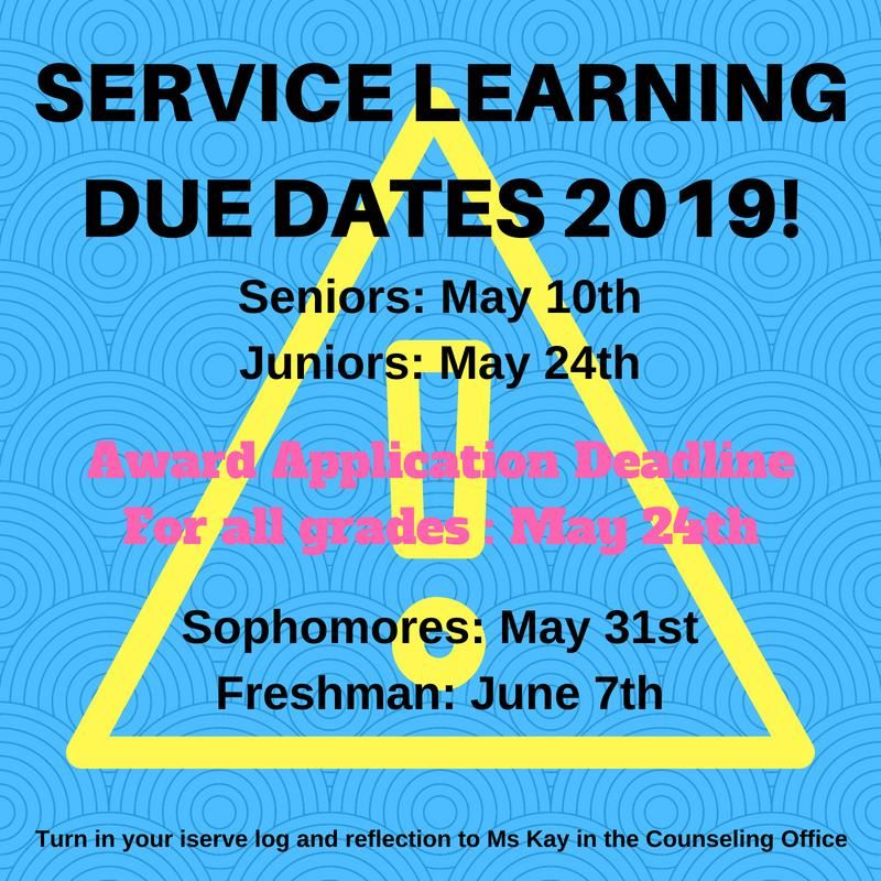 Service Learning 2019