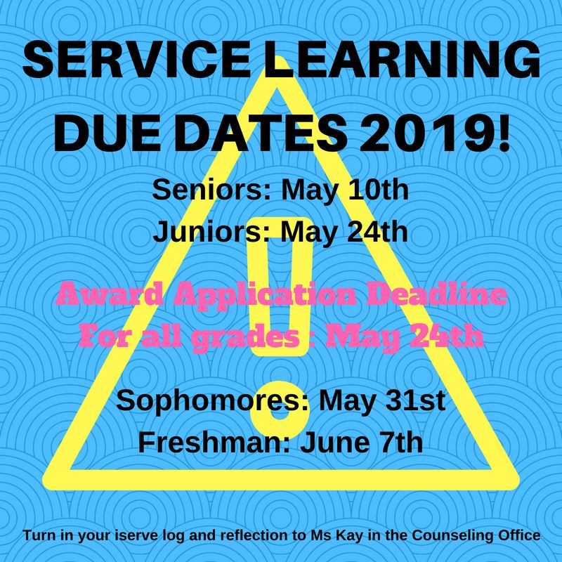 Service Learning 2018