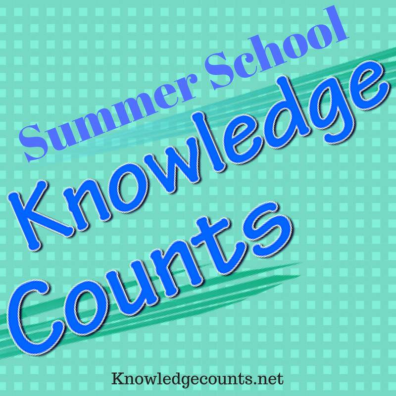 Summer School with Knowledge Counts