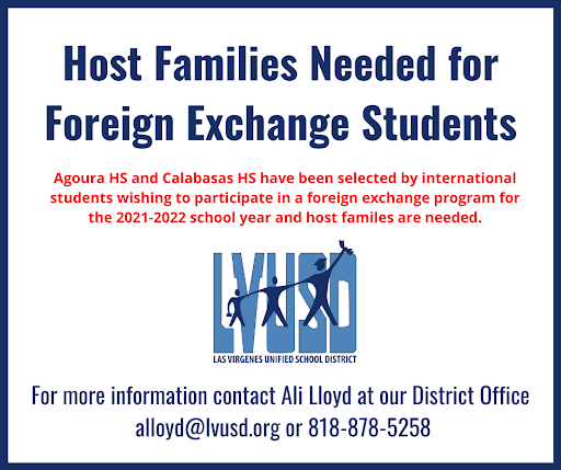 Host Families Needed for For International Exchange Students