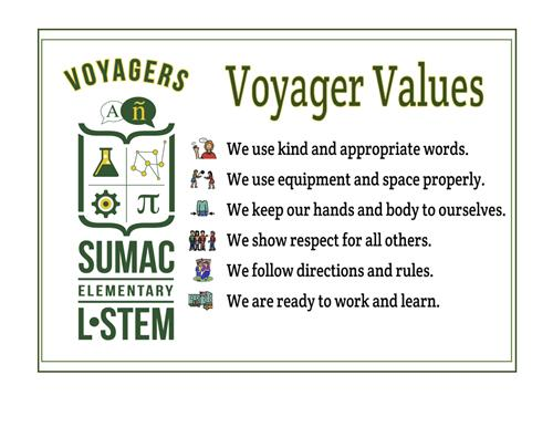Voyager Values