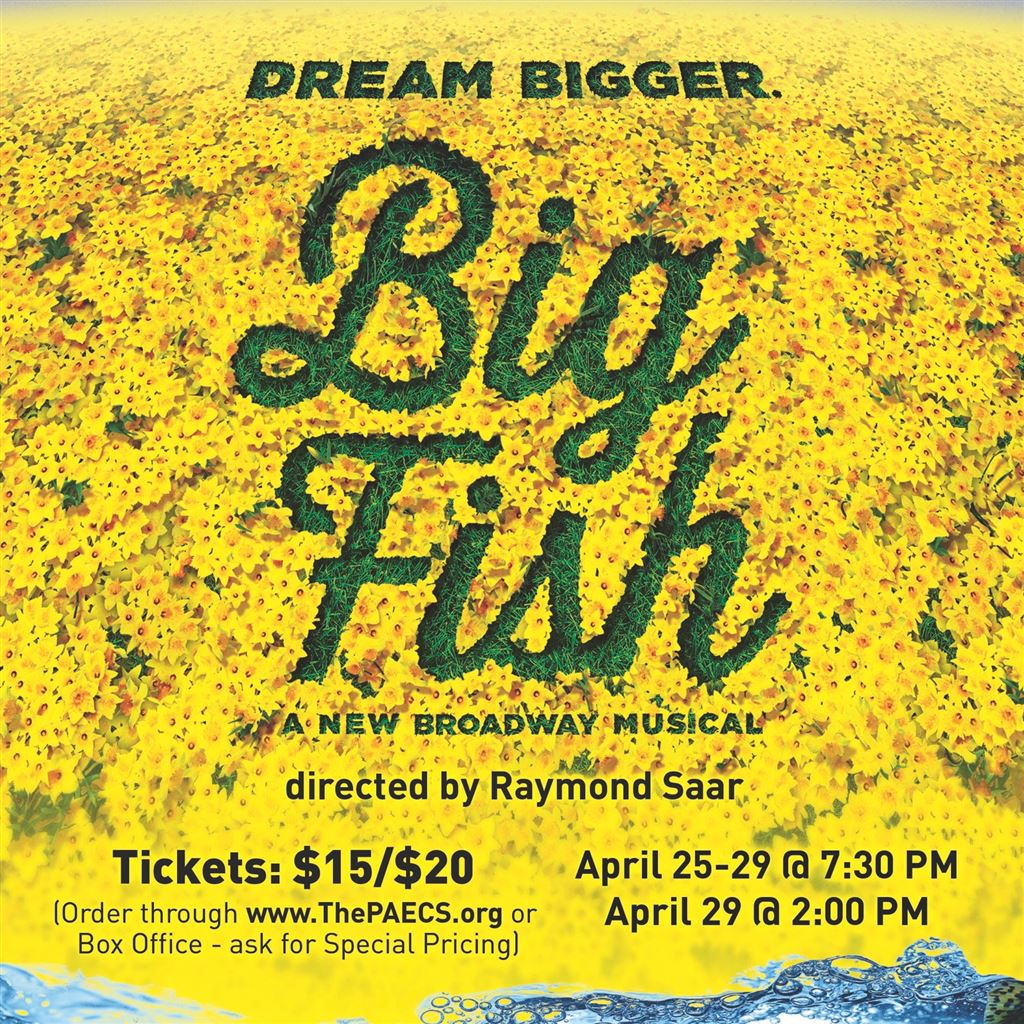Big Fish the Musical ticket info