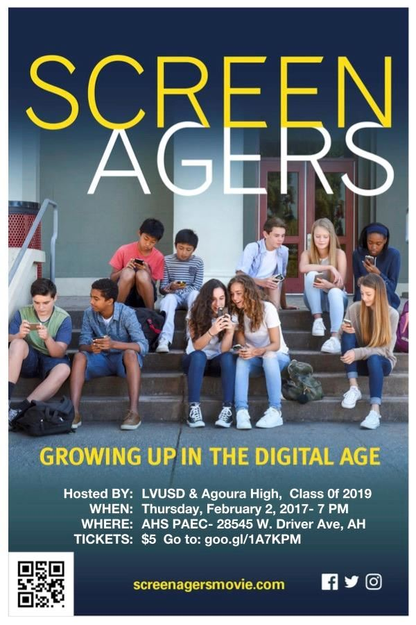 Screenagers Event Flyer